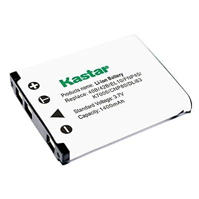 Kastar Charger, Battery for FNP45-1 FNP45 FNP-45 NP-45 NP45