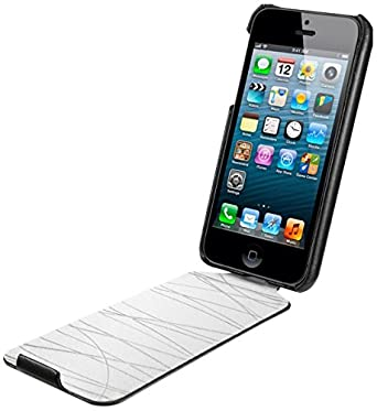 low priced cebcc d7785 SPIGEN SGP Leather Case Argos series for new iPhone 5S / 5 Black ...