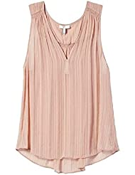 Joie Ankenmen Blush Sheer Blouse