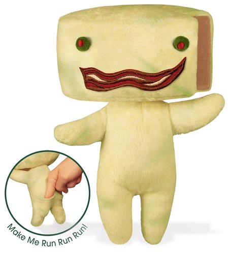 amazon com stinky cheese man 8 soft toy toys games