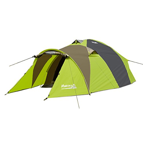 Makino 2 Person Tunnel Tent Backpacking 3 Season for C&ing with Rainfly  sc 1 st  outdoor c&ing tent & Makino 2 Person Tunnel Tent Backpacking 3 Season for Camping with ...