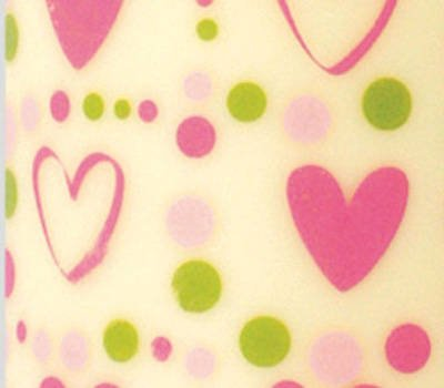 Chocolate Transfer Sheet Valentine Pink Hearts Pretty Amazon Co
