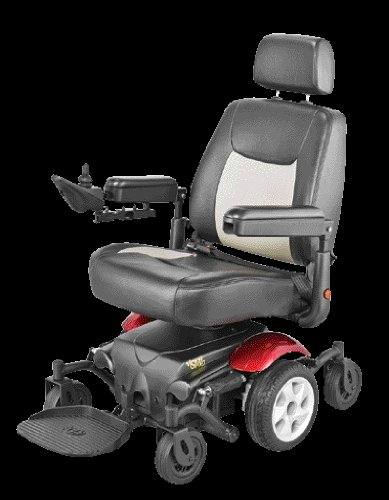 Mid-Wheel Drive Power Base Wheelchair