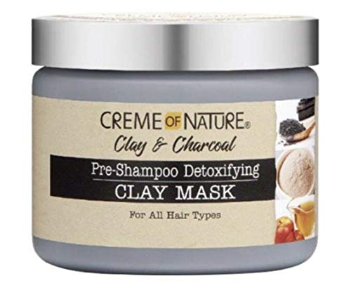 CREME OF NATURE CLAY & CHARCOAL CLAY MASK 11.5oz