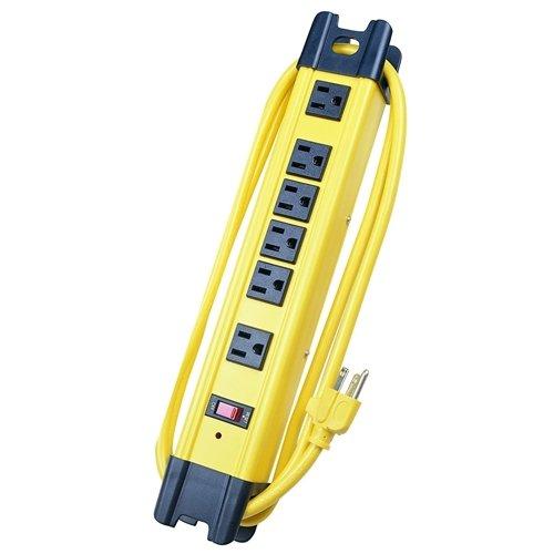 (Voltec Industries 11-00226 6-Outlet Surge Metal Strip)