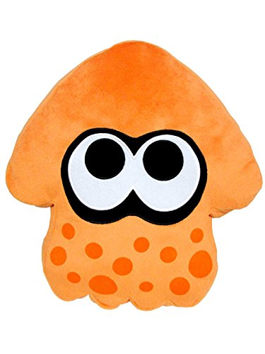 Sanei Splatoon Series Orange Splatoon Squid Cushion 14