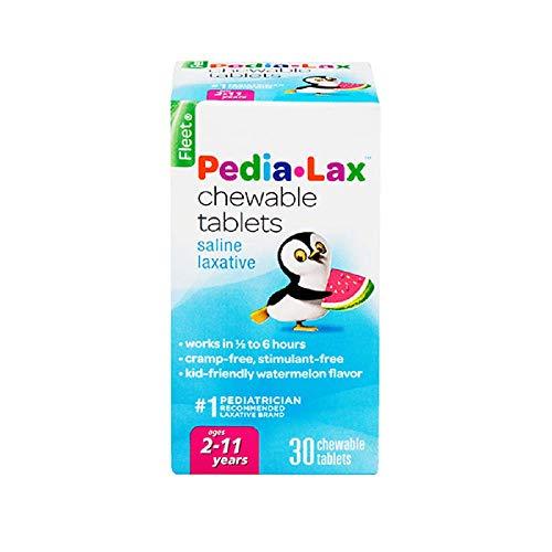 Fleet Pedia-Lax Saline Laxative Chewable Tablets -