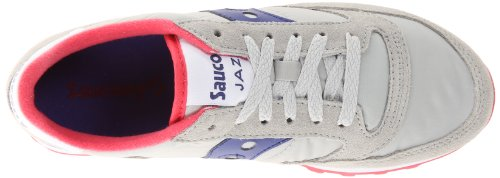 Saucony Femme Dark Purple Grey Original Light Jazz Cross Chaussures de rXprzgq