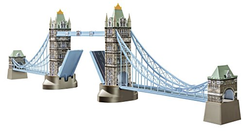 Ravensburger Tower Bridge 216 Piece 3D Jigsaw Puzzle for Kids and Adults - Easy Click Technology Means Pieces Fit Together Perfectly