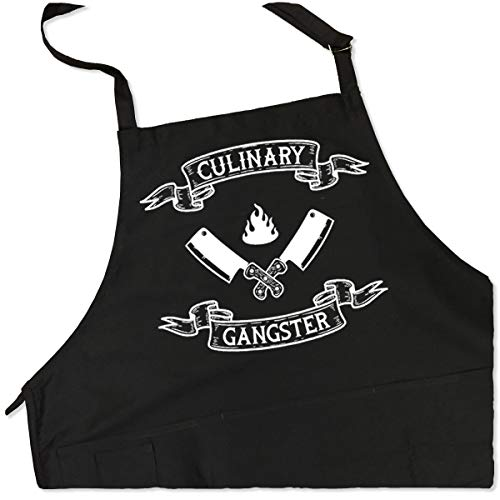 ApronMen Culinary Gangster Apron - BBQ Grill