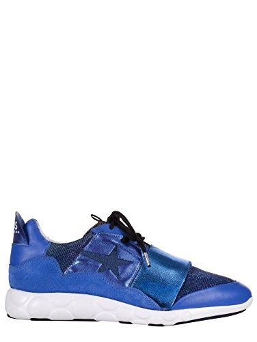Golden Goose - Zapatillas de Piel para mujer azul turquesa