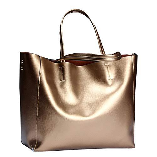 Mode Loisirs à Bronze Haute tout Sacs Main Sacs Carrées Rivet Fourre élégantes Pochettes Femmes Sac Multifonctions Capacité vdpzqap