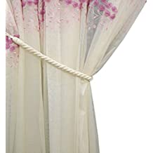 outdoor curtain tie back