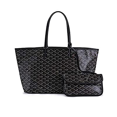 Stylesty High Grade Fashion Design Pu Shopping Shoulder Tote Bag Set Handbags with Coin Pouch