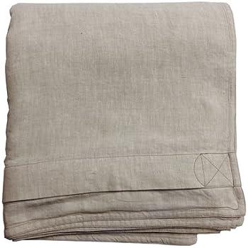 linoto 100 linen duvet cover natural size106 x 94 king natural oatmeal