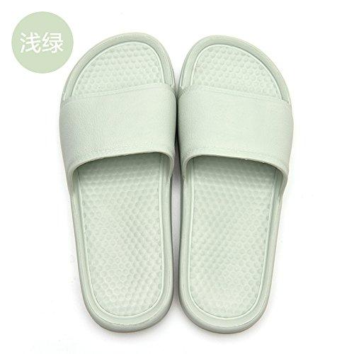 femenino baño género de 36 de hogar verde luz olor verano del suelo el cuarto el la 35 fresco Fankou verano zapatillas nbsp;Zapatillas de ligero en qTnt8x8fwA
