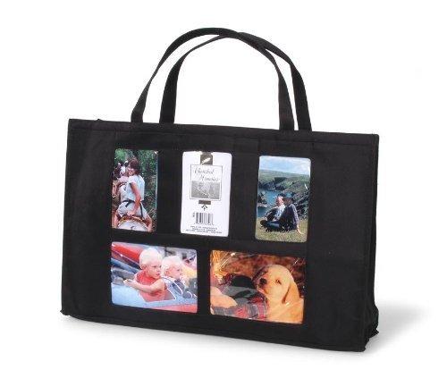 Darice Photo Tote Bag 5 Windows 12 x 19 Inches (2 Pack)