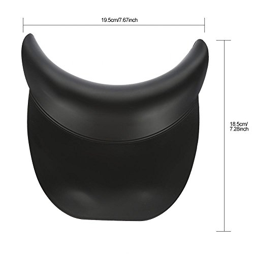 Silicone Shampoo Neck Head Rest Cushion, Durable Soft Hairdressing Backwash Bowl Gripper Hair Washing Sink by Semme (Image #7)