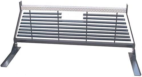 RKI WG15B Black Rear Window Grille and Ladder Rack