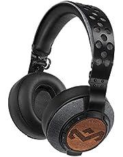 House of Marley Liberate XLBT Bluetooth Over-Ear Kopfhörer - kabelloser Kopfhörer, faltbar, On-Ear, Geräuschunterdrückung (Noise Cancelling), Premium Sound 50mm Treiber, Mikrofon, USB-Ladung, 12h Akku