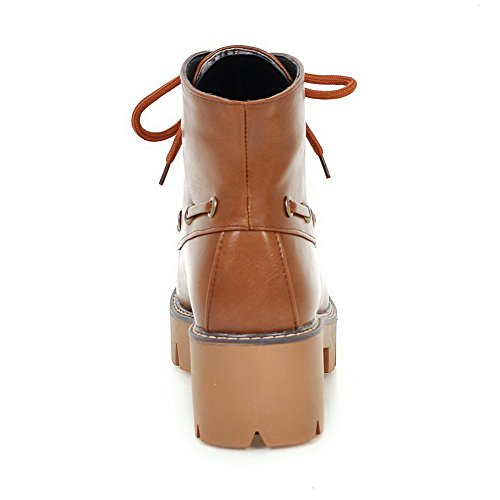 35 5 Sandali Brown MNS02658 Donna EU con Marrone Sconosciuto 1TO9 Zeppa 0OHppq