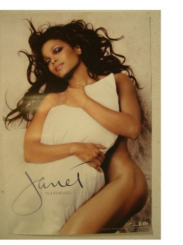 Janet Jackson Poster Almost Totally Nude All For You