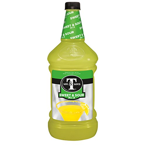 Tangy Cocktail - Mr & Mrs T Sweet & Sour Mix, 1.75 L bottles (Pack of 6)