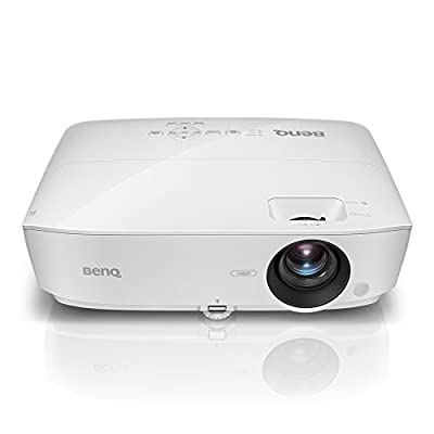 BenQ Full HD 1080p Business Projector (MH535A), DLP, 3600 Lumens, 15,000:1 Contrast, Dual HDMI, 15,000hrs Lamp Life, 3D Compatible, 1.2X Zoom, 1920x1080, 2W Speaker