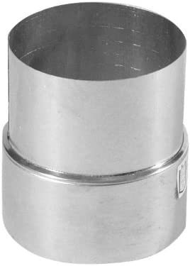 Kamino – Flam – Adaptador de reducción para tubo de chimenea (120/130 mm, acero), Tubo reducción estufa, Reductor tubo escape, Chimenea reducción EN 1856-2 – resistente a temperaturas altas