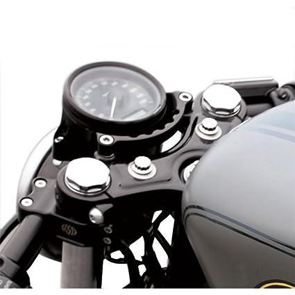 Roland Sands Design #0207-2001-B Cafe Gauge & Headlight Relocator For  Harley-Davidson XL