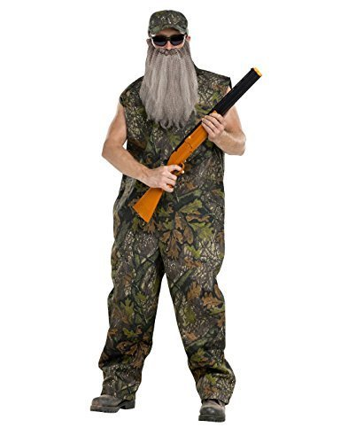 [Adult Duck Dynasty Hunter Costume, One Size] (Duck Costumes Adult)