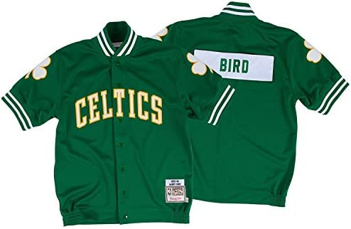 newest 9516f 64a53 Amazon.com : Mitchell & Ness Larry Bird Boston Celtics 1983 ...