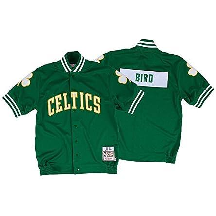 Larry Bird 1983-84 Mitchell & Ness Authentic Shooting Shirt Boston Celtics