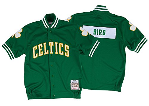 Mitchell & Ness Larry Bird 1983-84 Authentic Shooting Shirt Boston Celtics (52/XXL) (Celtics Snap Boston)