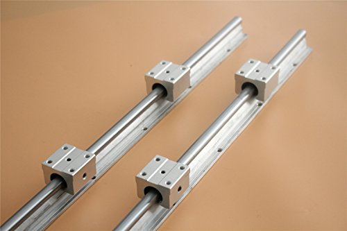 CHUANGNENG 2Pcs SBR20 800mm Linear Bearing Slide Rail for sale  Delivered anywhere in USA