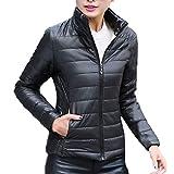 MOMKER Women's Mid Long Down Vest Lightweight Puffer Vest Coat Jacket Stylish Windbreaker