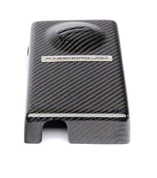 password jdm: dry carbon fiber fuse box over-cover 2016 2017 honda civic  type-r si ex lx dx, fuse boxes - amazon canada