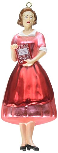 Department 56 General Mills Betty Crocker with Book Hanging Ornament ()