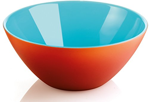 Guzzini My Fusion Medium Bowl, BPA-Free Shatter-Resistant Acrylic, 7-3/4