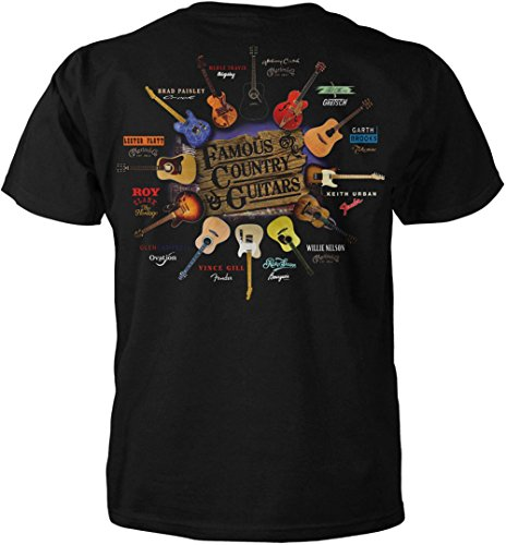 Famous Country Western Guitars T Shirt product image