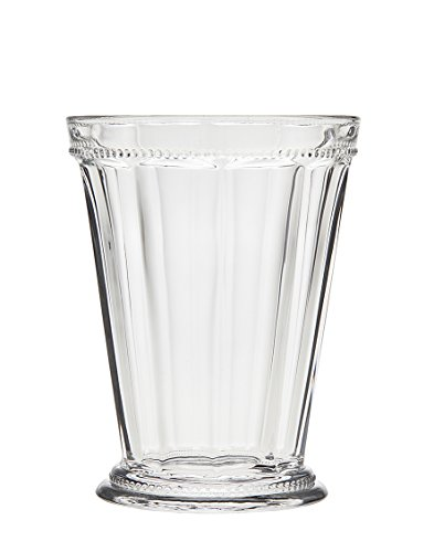 Beaded Glass Tumbler - Godinger Hamilton House Tumbler