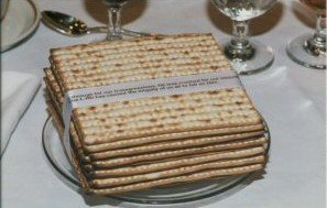 Passover Square Matzah 1 Pound By Menorah.com