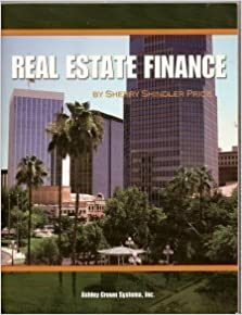 Real Estate Finance by Sherry Shindler Price (2004-11-06)