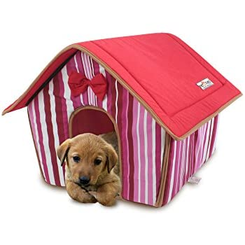 Amazon.com : PAWZ Road Pet Dog House Cat Bed for Medium