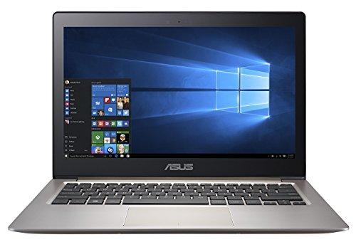 Asus Zenbook UX303UB-R4021T 33,8 cm (13,3 Zoll FHD) Notebook (Intel Core i7 6500U, 4GB RAM, 256GB SSD, NVIDIA GeForce 940M, Win 10) braun