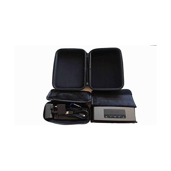 Étui de transport étui de protection boîte de rangement sac de voyage pour Bose SoundLink Mini 1 2 Enceinte Bluetooth 6