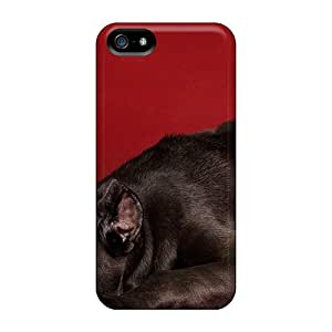 Osi20670beQB Anti-scratch Cases Covers DeannaTodd Protective Puppy Resting Cases For Iphone 5/5s