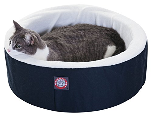 16 inch Blue Cat Cuddler Pet Cat Bed By Majestic Pet Product
