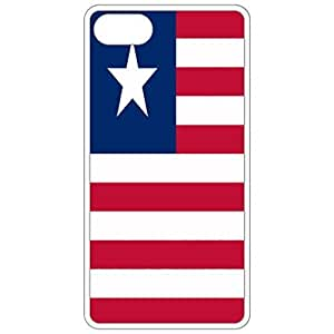 Liberia Flag - White Apple Iphone 5 5s Cell Phone Case - Cover