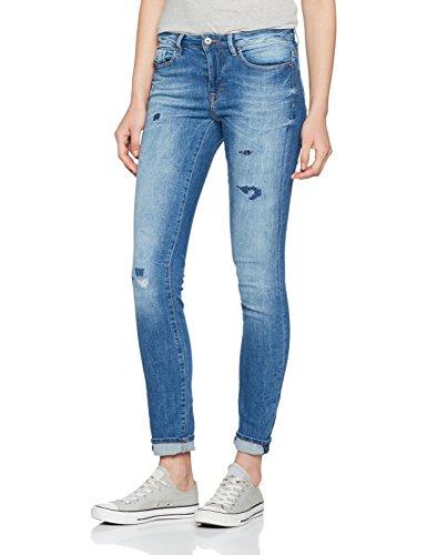 edc by ESPRIT 047cc1b019, Jeans Mujer Azul (Blue Medium Wash)